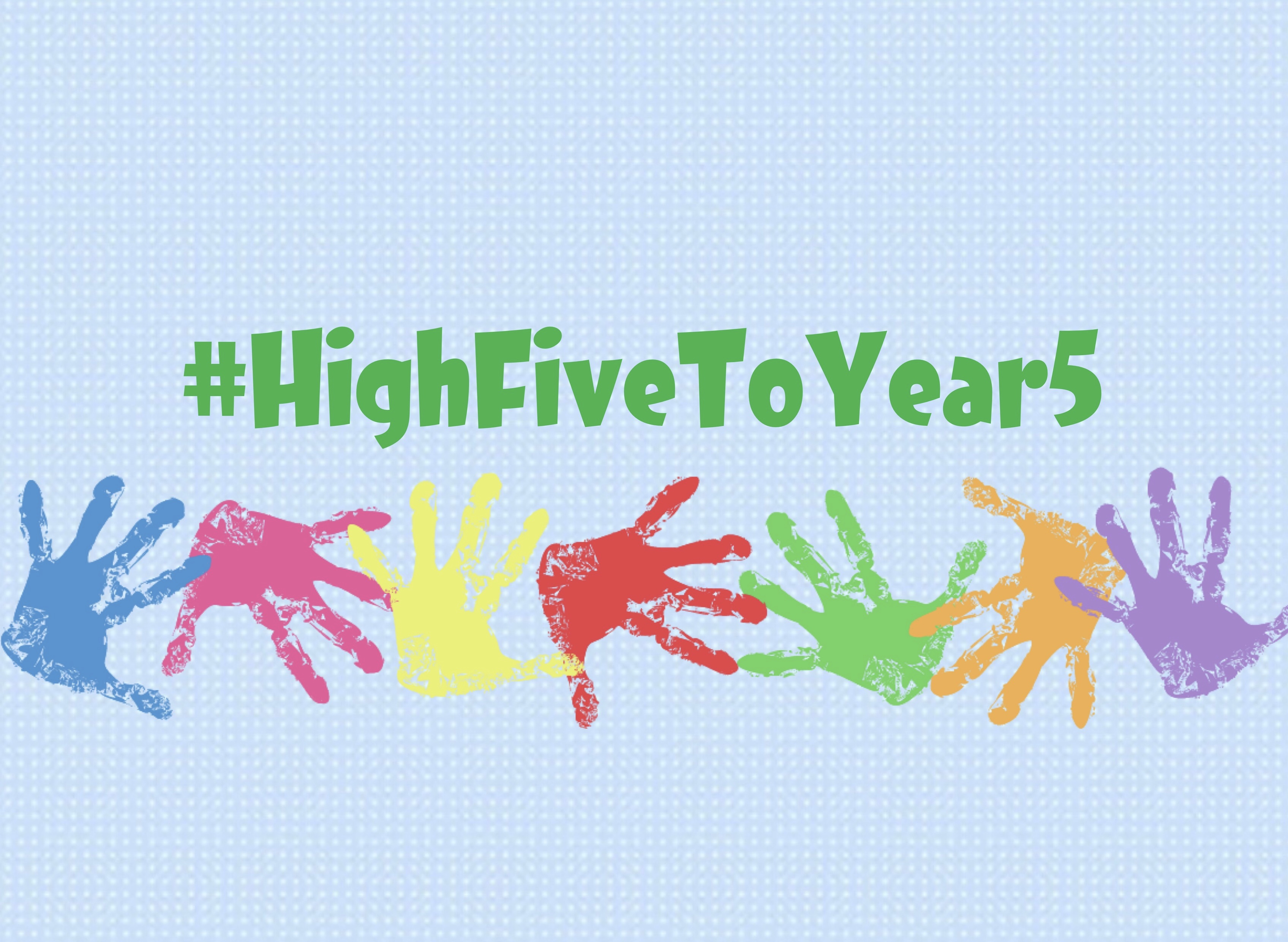 High 5 graphic